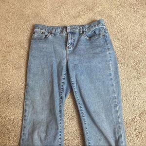 ralph lauren classic skinny bootcut jeans